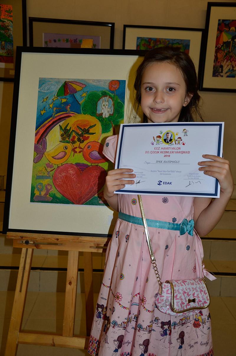 Eczacı Hayati Yalçın Çocuk Resimleri Yarışması Sonuçlandı 86