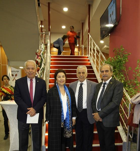 Mehmet-Adalet Erişkin, Yücel İzmirli, Pınar Yurdum