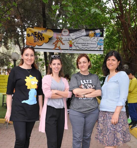 Öznur Acar, Moira Simes, Aysun Yağcı, Arzu Atıcı