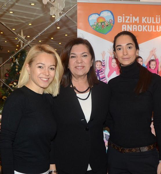 Şebnem Türkdalı Temizocak, Gülgün Zeytinoğlu, Ece Ocakoğlu